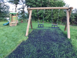 New toddlers playpark by the Dalavich Improvement Group