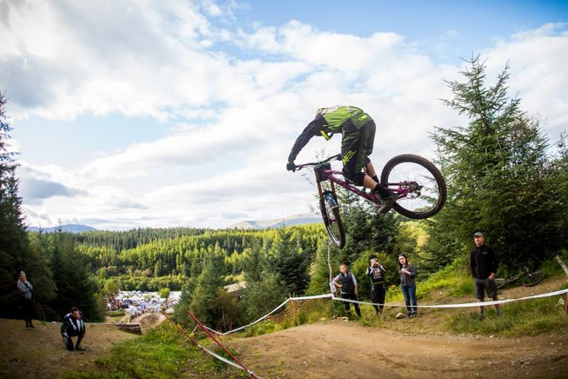 George Gannicot in action at Fort William