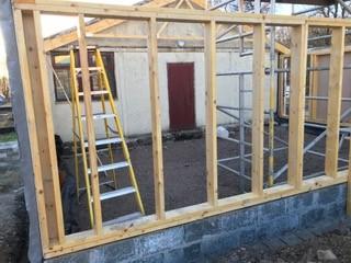 Kilmore and Kilbride Public Hall extension works underway